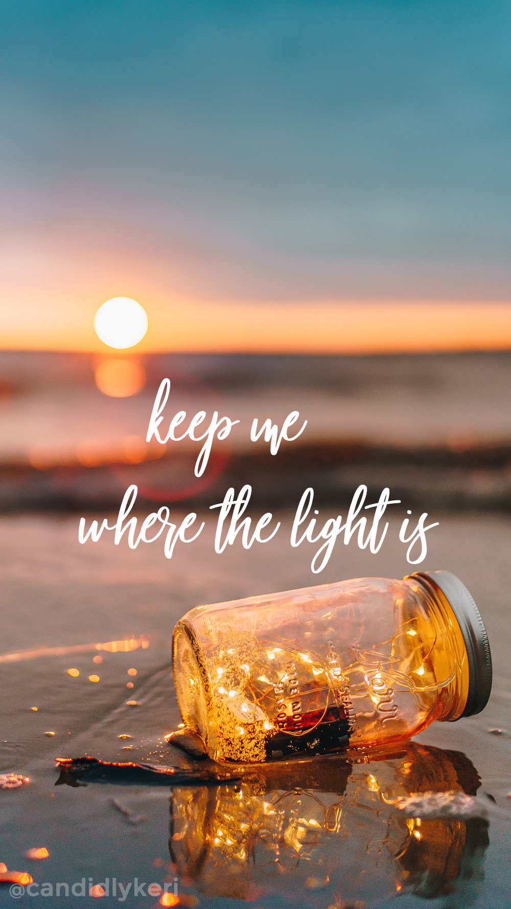 Keep me where the light is