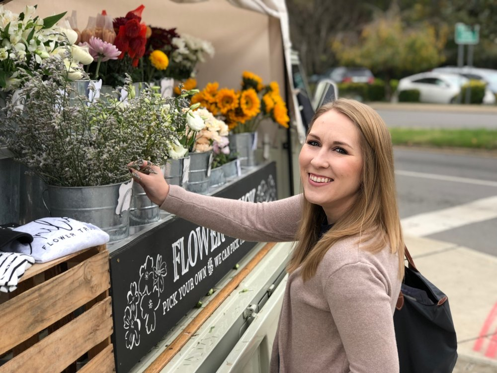 Amelia's flower truck Nashville Review
