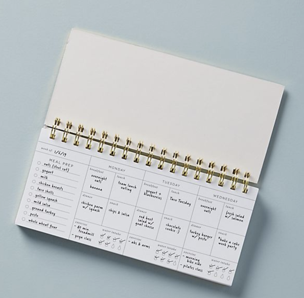 Planners for exercise and getting healthy
