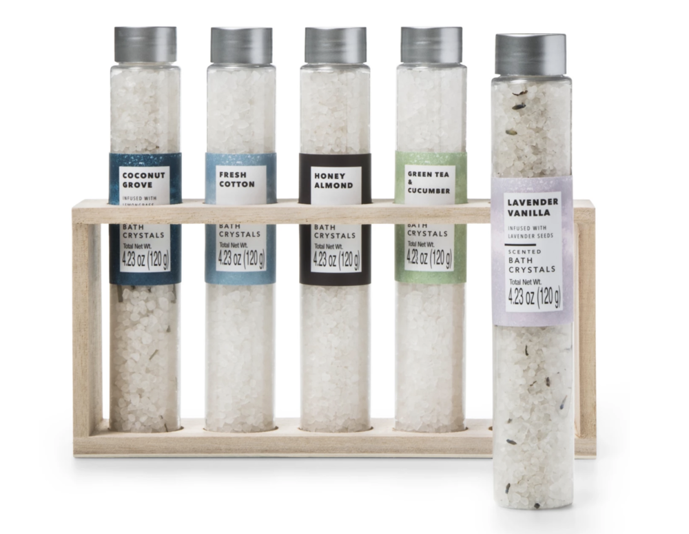 Scented Bath Salts for the winter