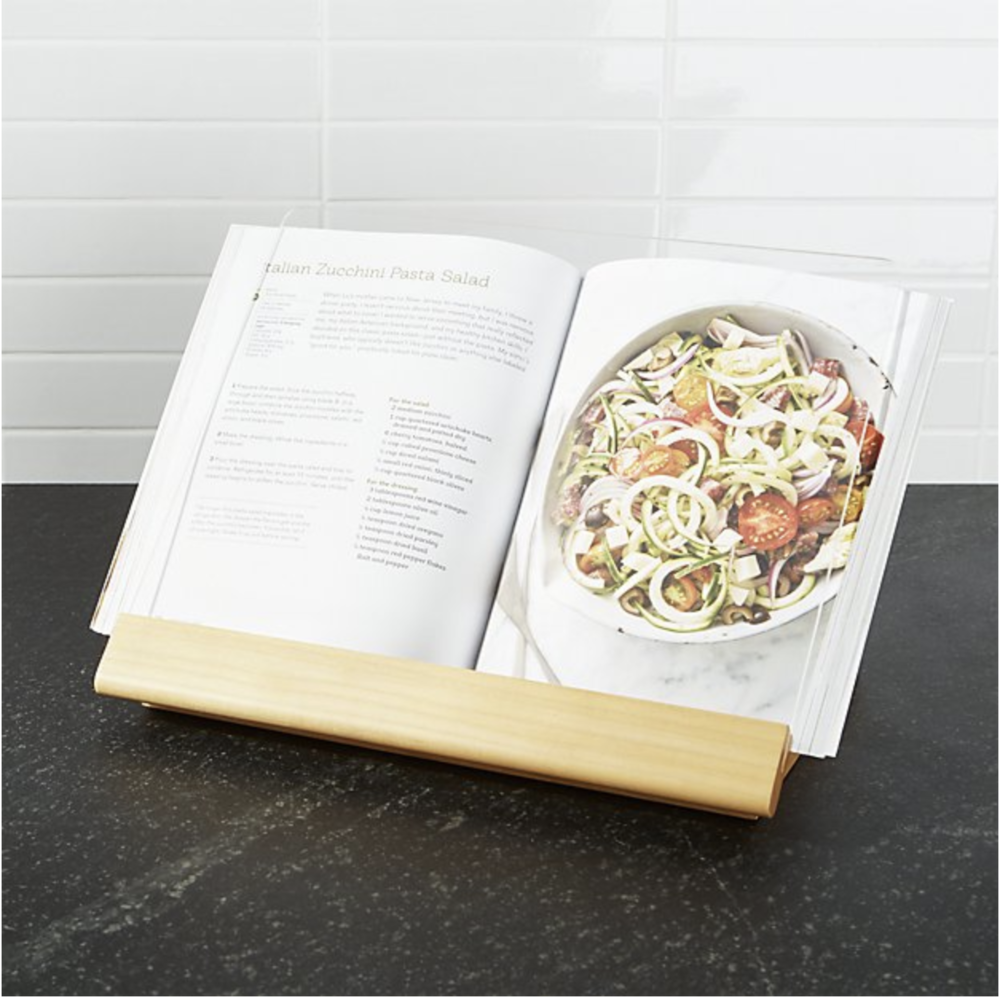 favorite items to register for cookbook stand