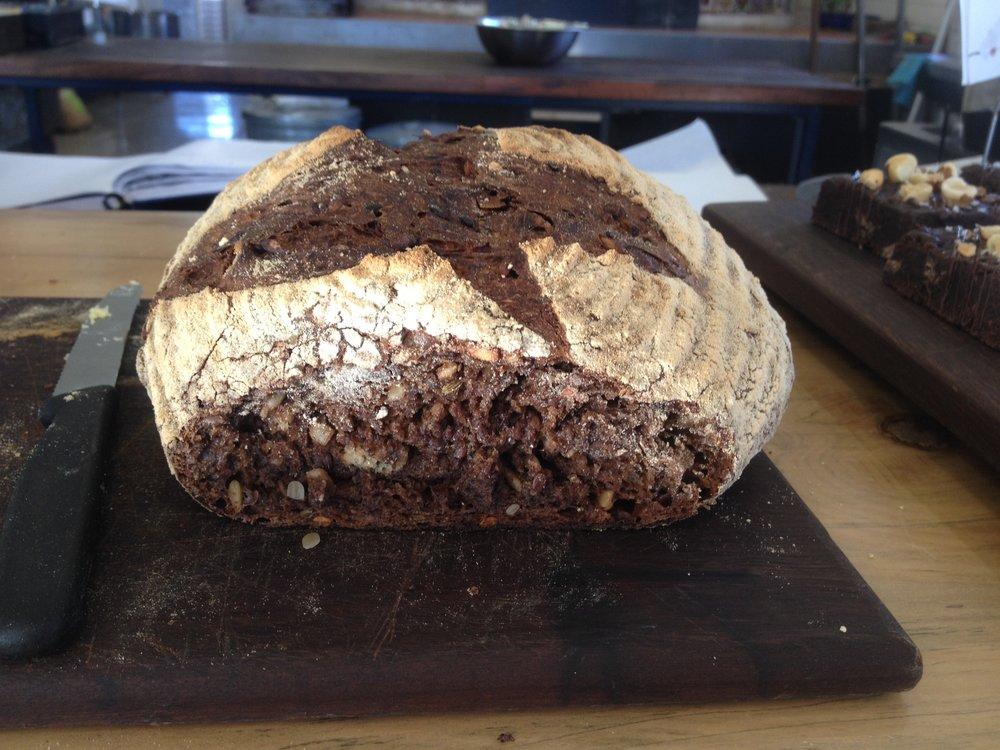 Ethiopian Black Bread