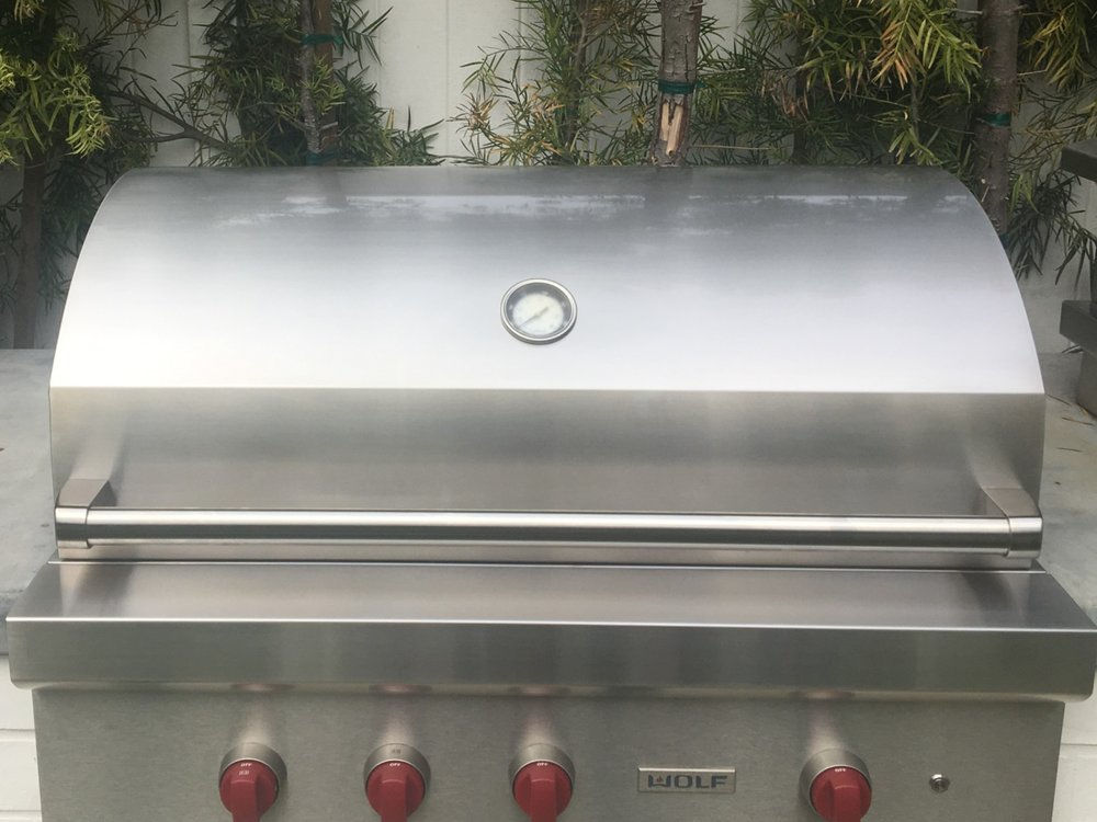 Wolf Outdoor Grill After Restoration