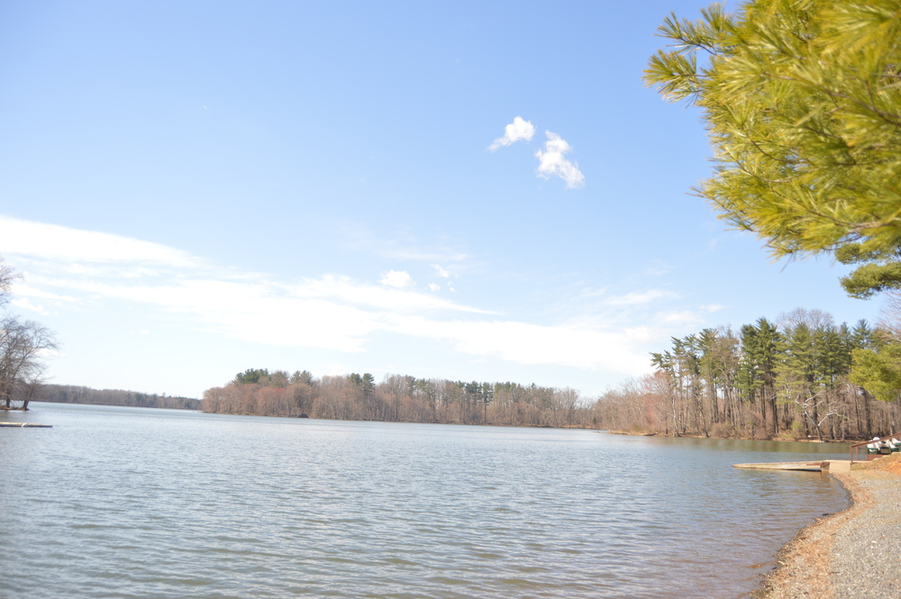 Before my show at Elevation Underground I went to Loch Raven Reservoir