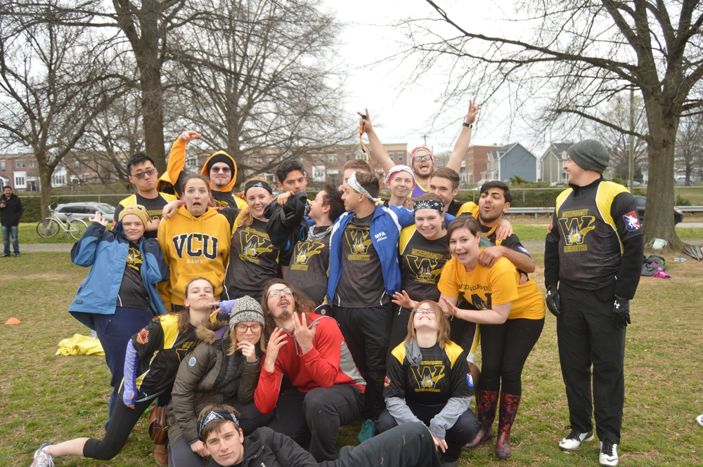 And then I met the VCU Quidditch team, some of the nicest people I've met and we had lunch and then I played Kingdom Hearts all day and went home. Thanks for the memories everyone until next time.