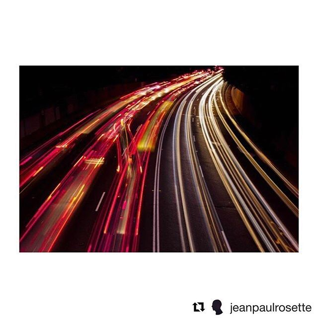 Pretty spectacular capture of another iconic Melbourne road by @jeanpaulrosette