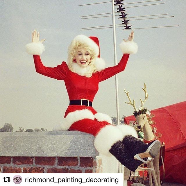 Couldn't have said it better! Thanks @richmond_painting_decorating ・・・ Merry Christmas to all of our wonderful clients, neighbours, family and friends.  #dolly #holly #richmond3121