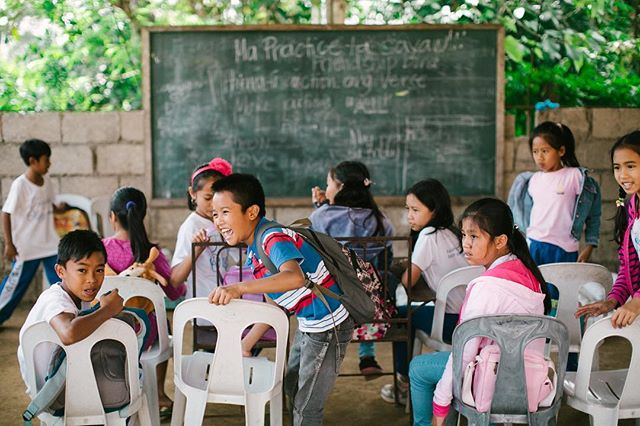 Oh how we love these little faces!! Our team is gearing up to make another visit to the Philippines next month. Follow along to see our team (and your donations) in action! #ariachildrensfund
