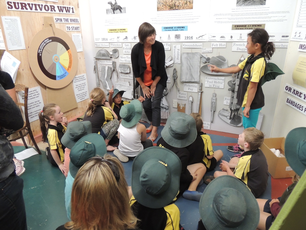 Volunteer with School Group at Central Hawke's Bay Settler's Museum