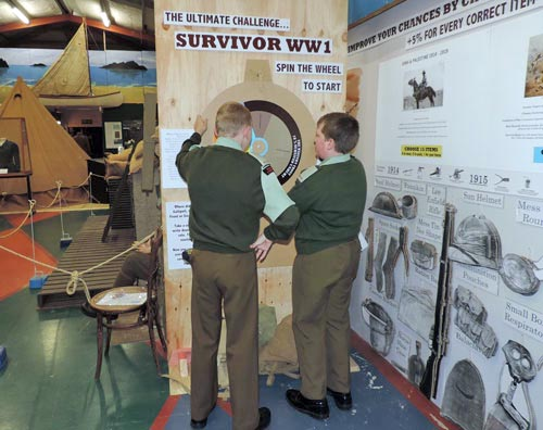 Cadets examine WW1 casualty rates