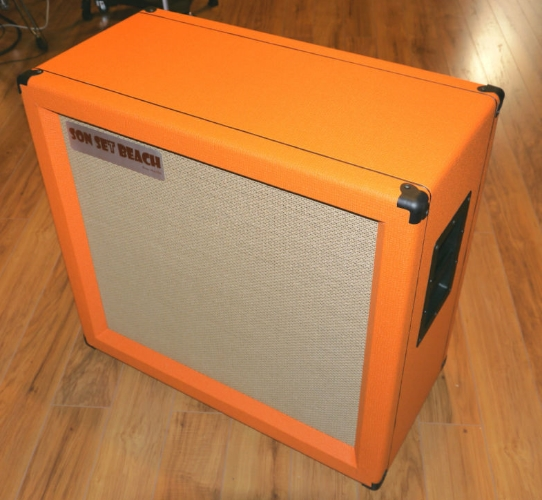 SSB312 Orange Son Set Beach Custom Cab Design