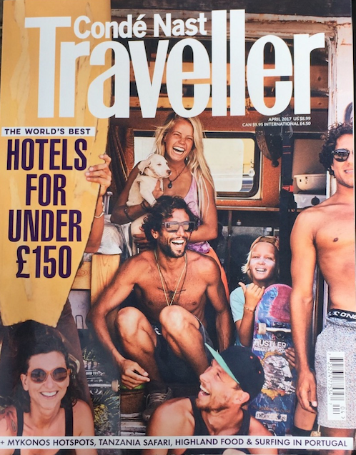 Review: Conde Nast Traveller March 2017