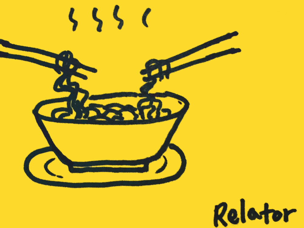 Relator StrengthsFinder Singapore Bowl Noodles Share Friends