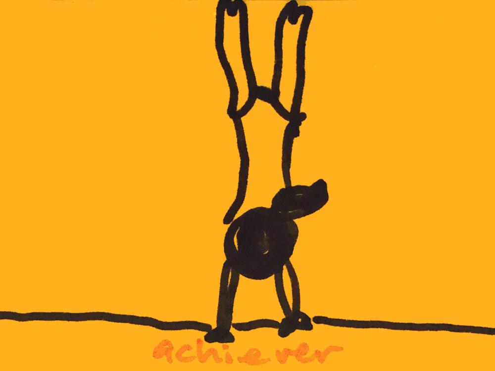 Achiever StrengthsFinder Singapore Gymnast Handstand