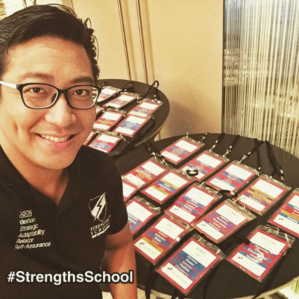 All set for a StrengthsFinder Workshop here in HongKong from Singapore.