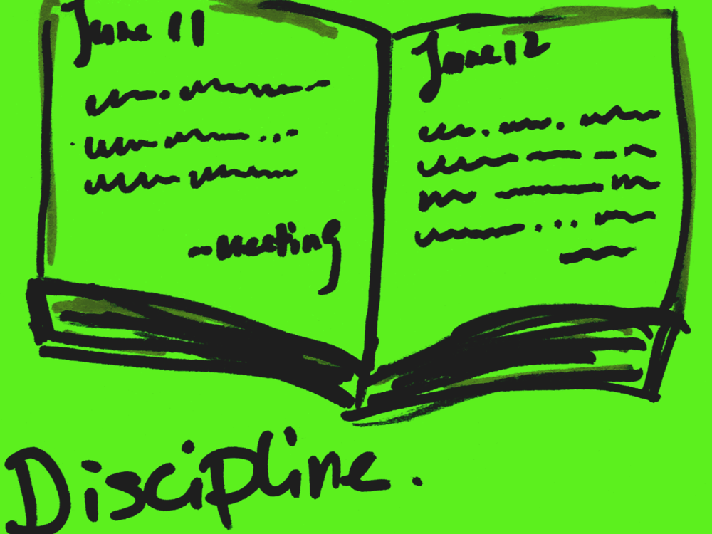 Discipline StrengthsFinder Singapore Daily Journal