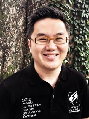 Victor Seet StrengthsFinder Coach of Strengths School StrengthsFinder Singapore