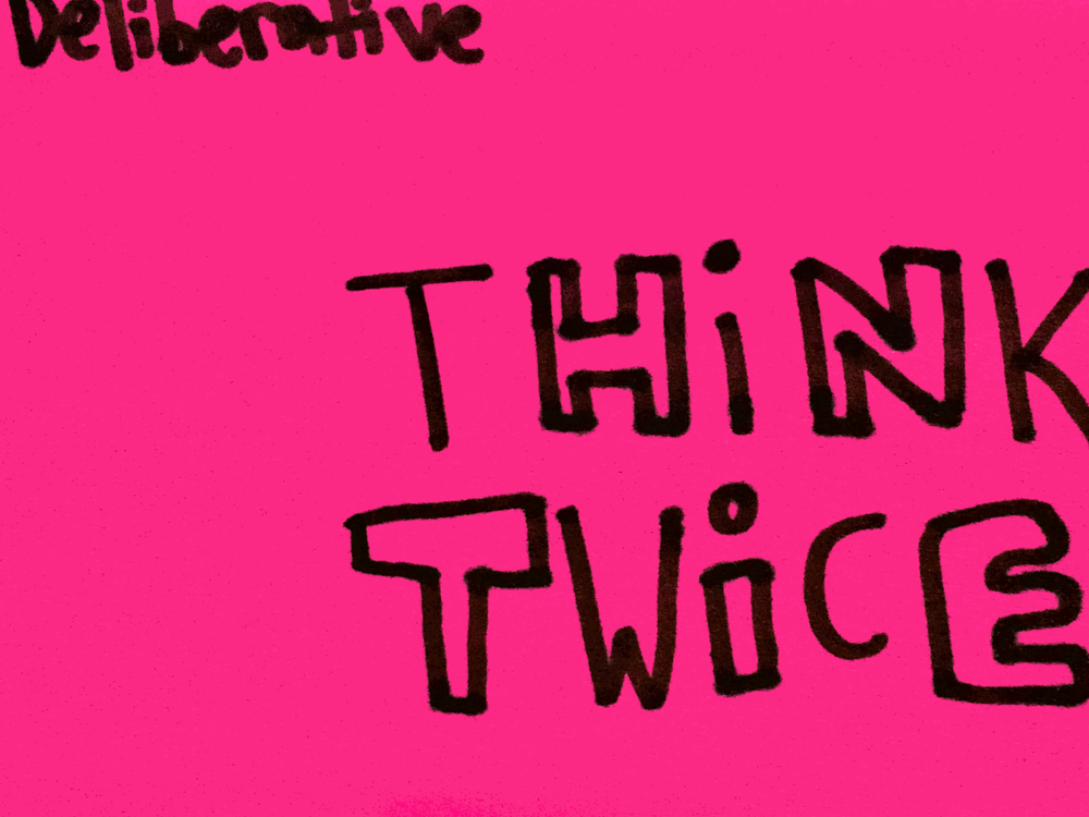 Deliberative Strengthsfinder Singapore Think Twice