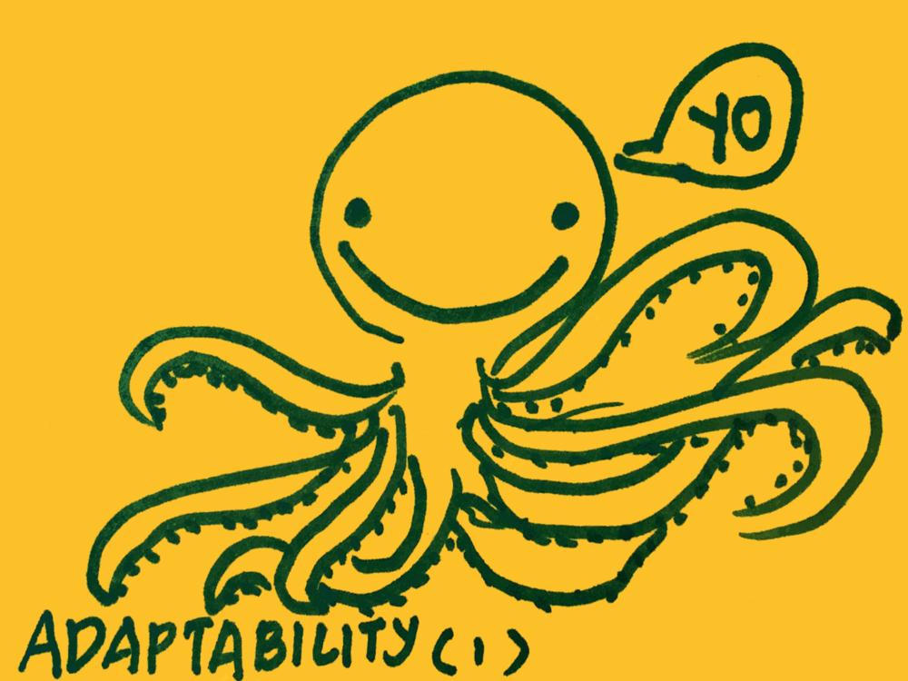 Adapatability Strengthsfinder Octopus Yo