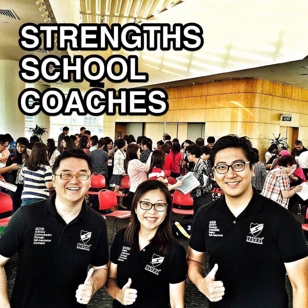 StrengthsFinder workshop at Singapore's National library's top floor called the Pod with 80 eager participants