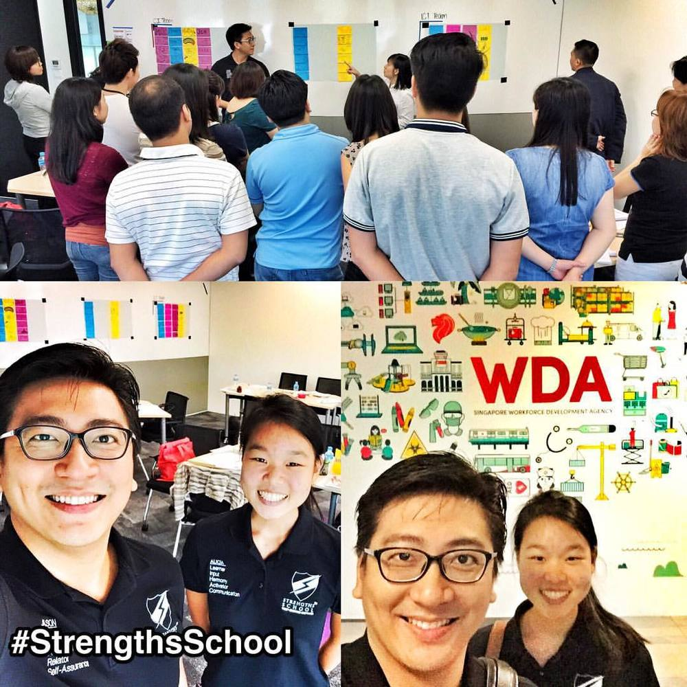 StrengthsFinder workshop for WDA Singapore