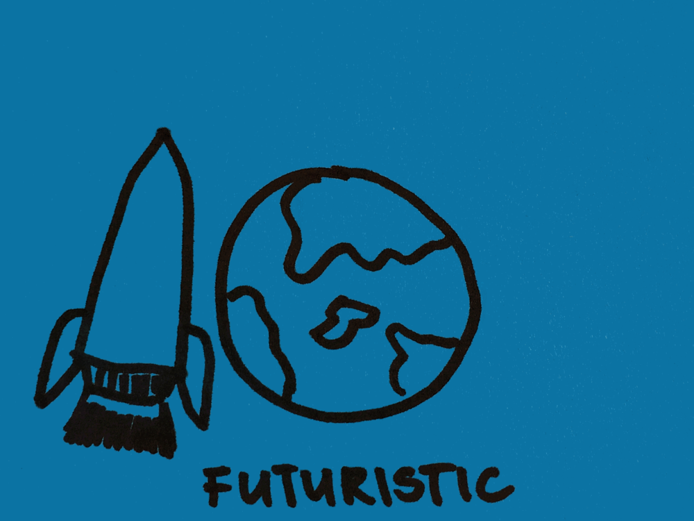 Futuristic Strengthsfinder Rocket World