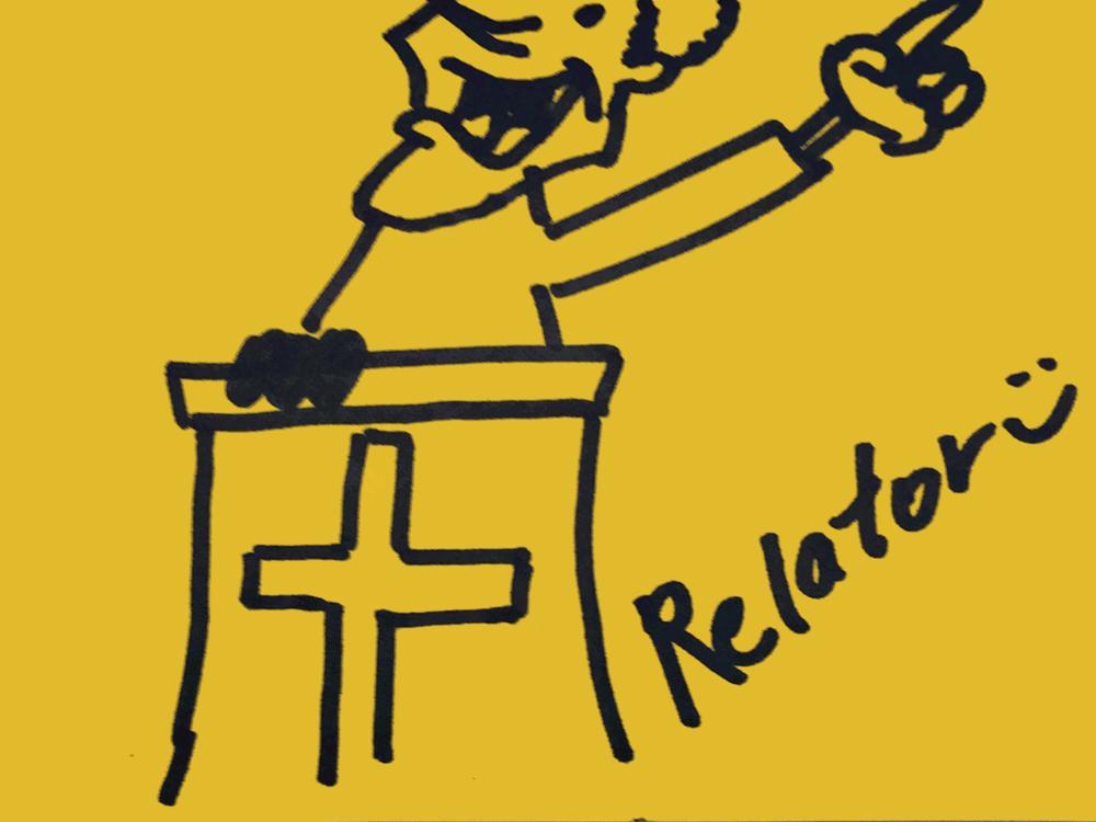 Relator Strengthsfinder Preacher behind Pulpit
