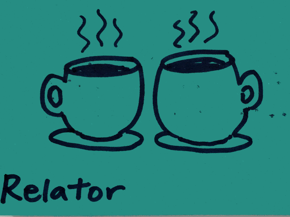 Relator StrengthsFinder Singapore Two Cups of Coffee