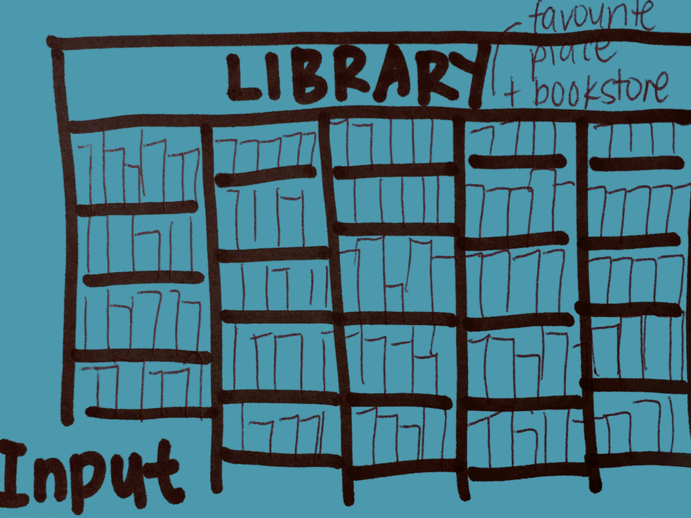 Input Strengthsfinder Library Bookshelf