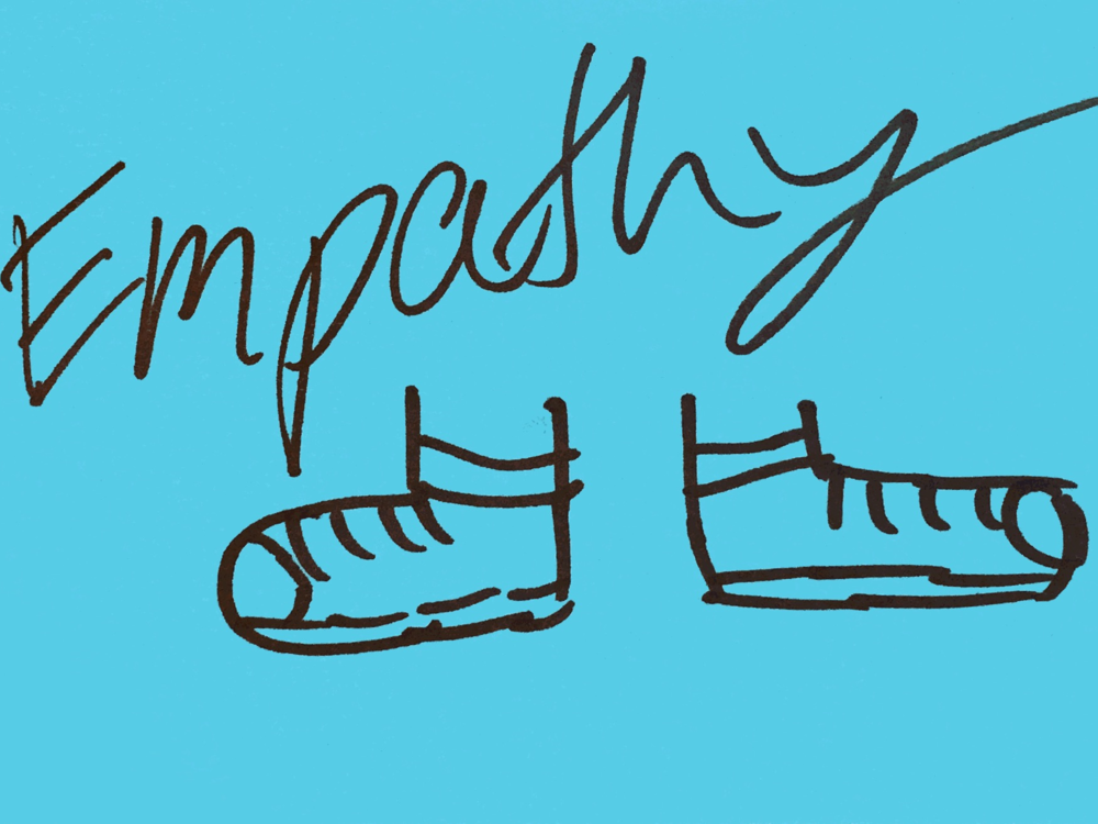 Empathy StrengthsFinder Walk in my shoes