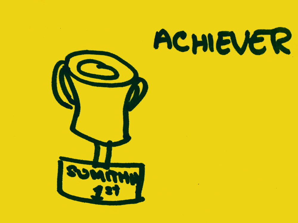 Achiever Strengthsfinder Medal Something First