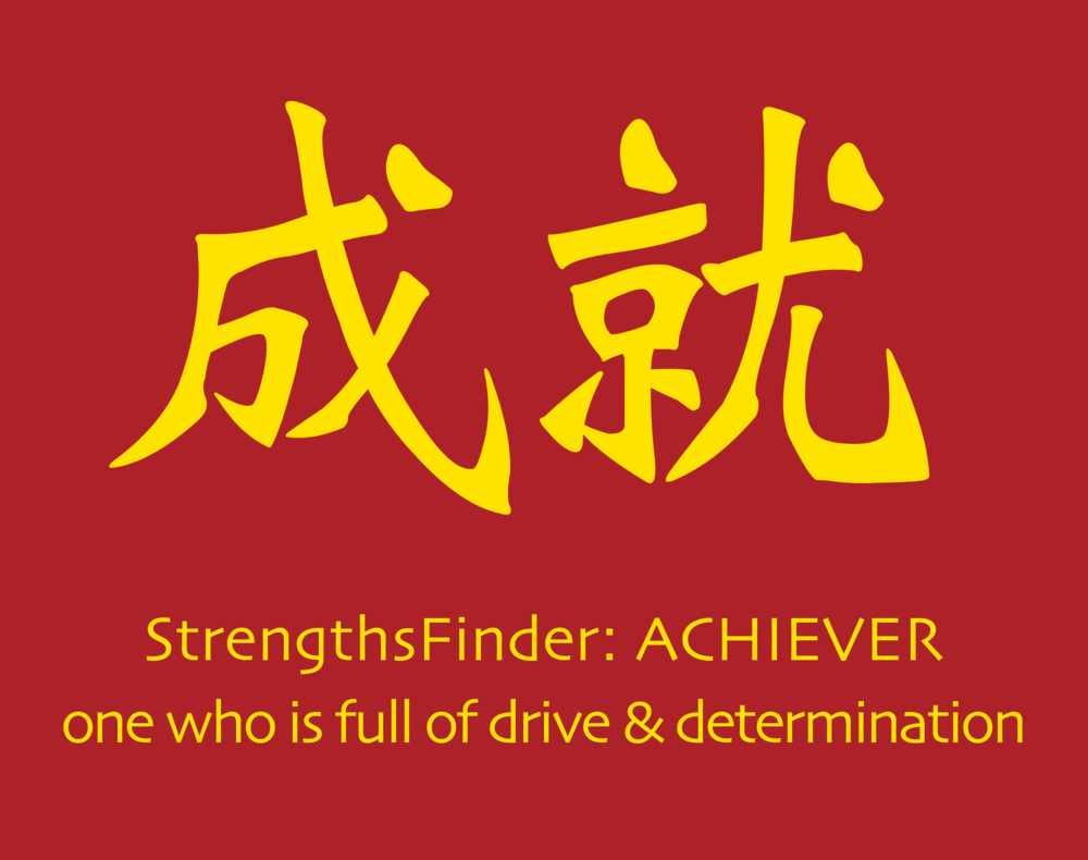 StrengthsFinder Red Packet Chinese New Year Strengths School Achiever