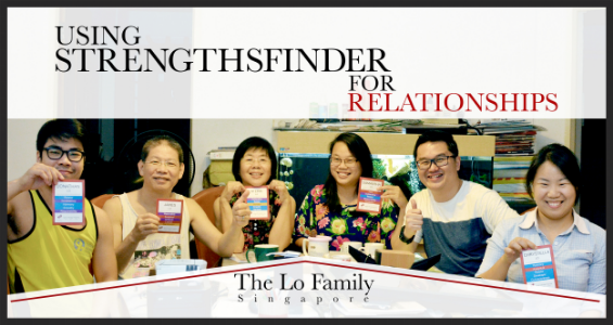 StrengthsFinder Singapore Strengths School Lo Family