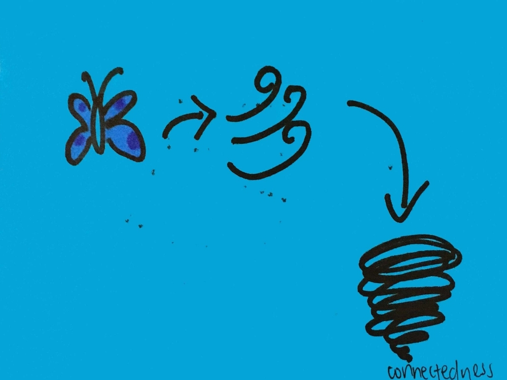 Connectedness Strengthsfinder Butterfly to Wind to Tornado