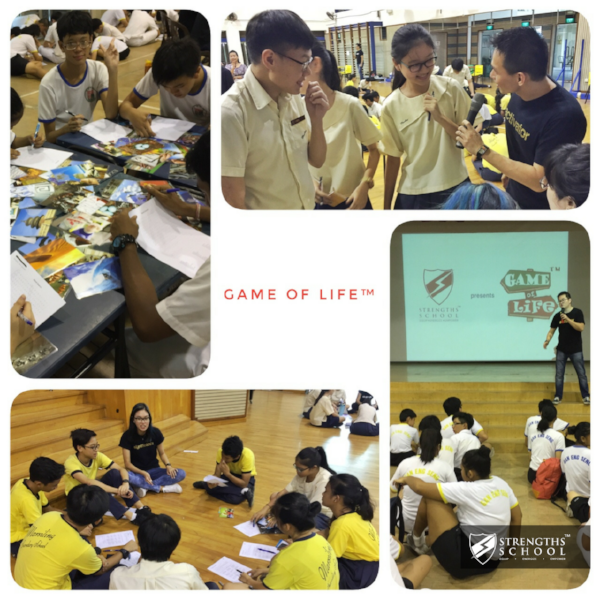 StrengthsFinder Singapore Workshop Strengths School Game of Life Student Leadership Time Out Program