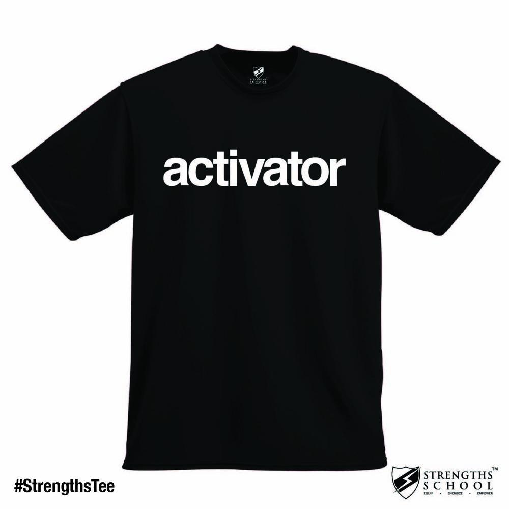 StrengthsTee StrengthsFinder Tee - Activator.jpg