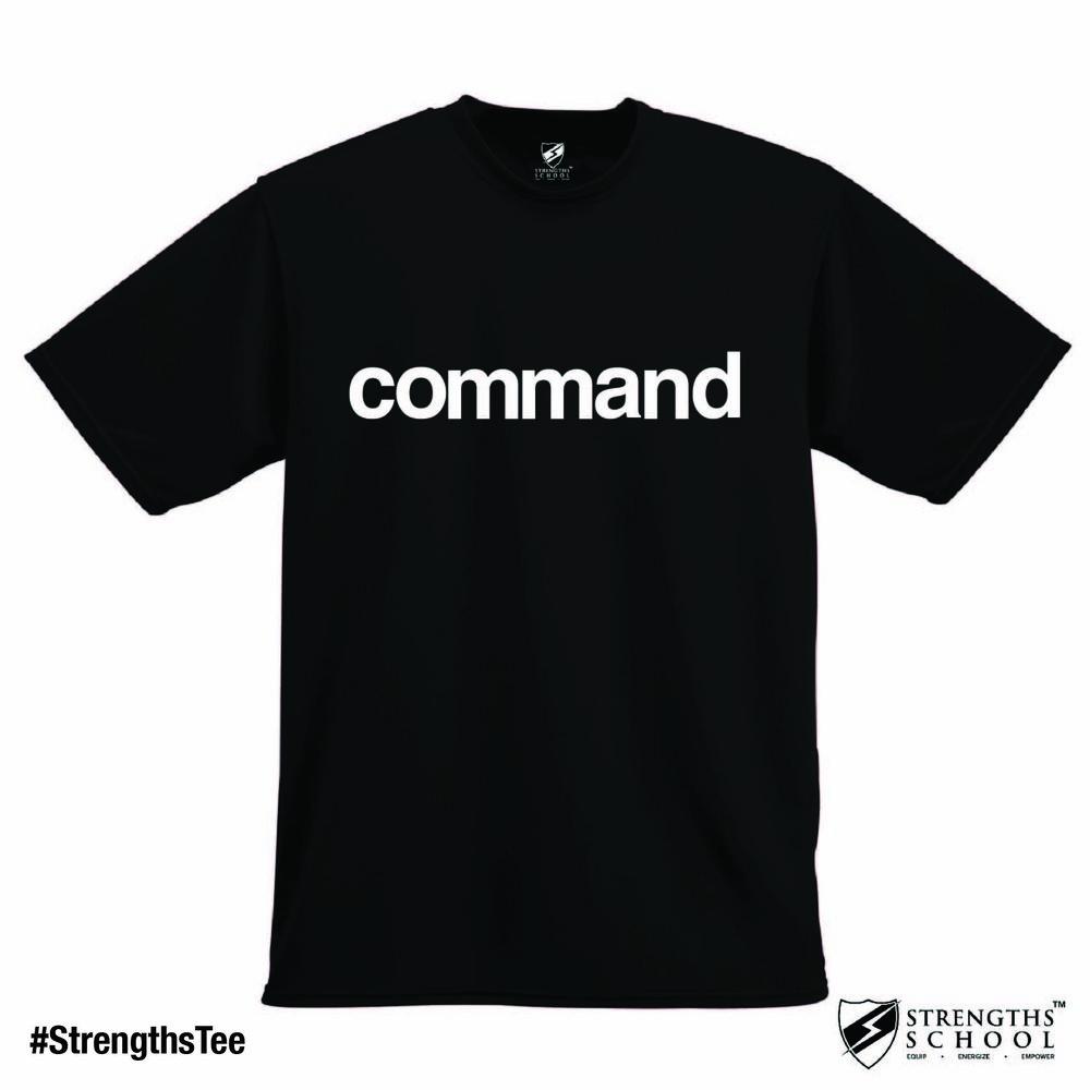 StrengthsTee StrengthsFinder Tee - Command.jpg
