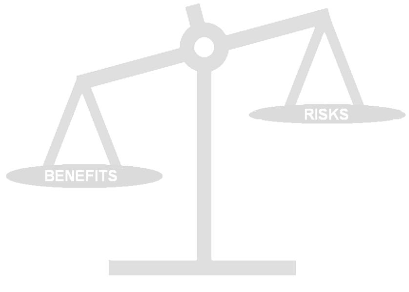 Lợi ích nghiên cứu điều trị lớn hơn nguy cơ nghiên cứu