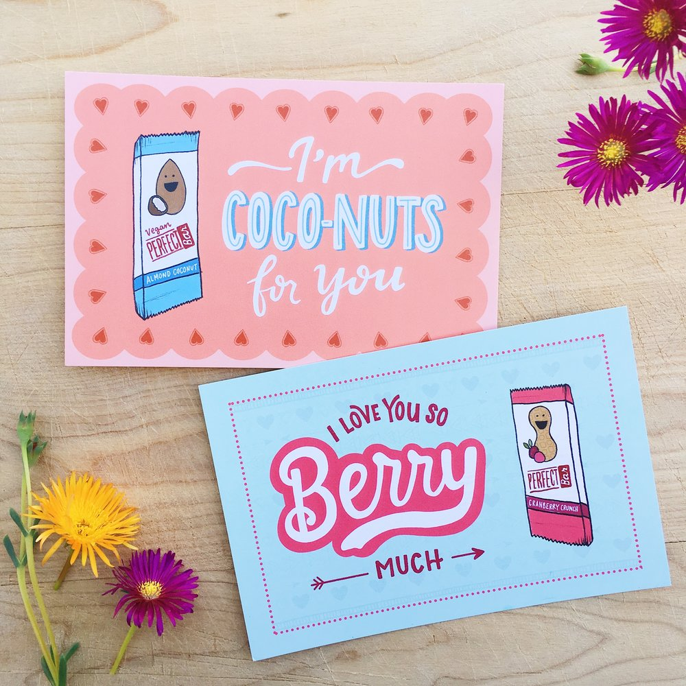 Postcard Lettering & Illustration