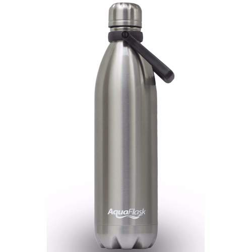 370914bf6f00 AquaFlask Insulated Double Wall Stainless Steel Water Bottle with ...