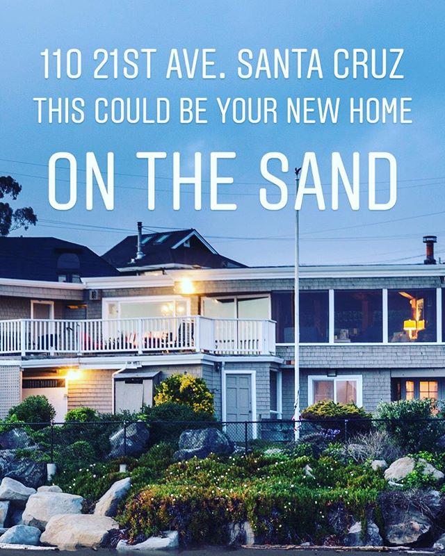 @santacruzbeachhomes #luxurylifestyle #locatelli #realestate #santacruz #oceanfront #oceanfrontproperty #surf