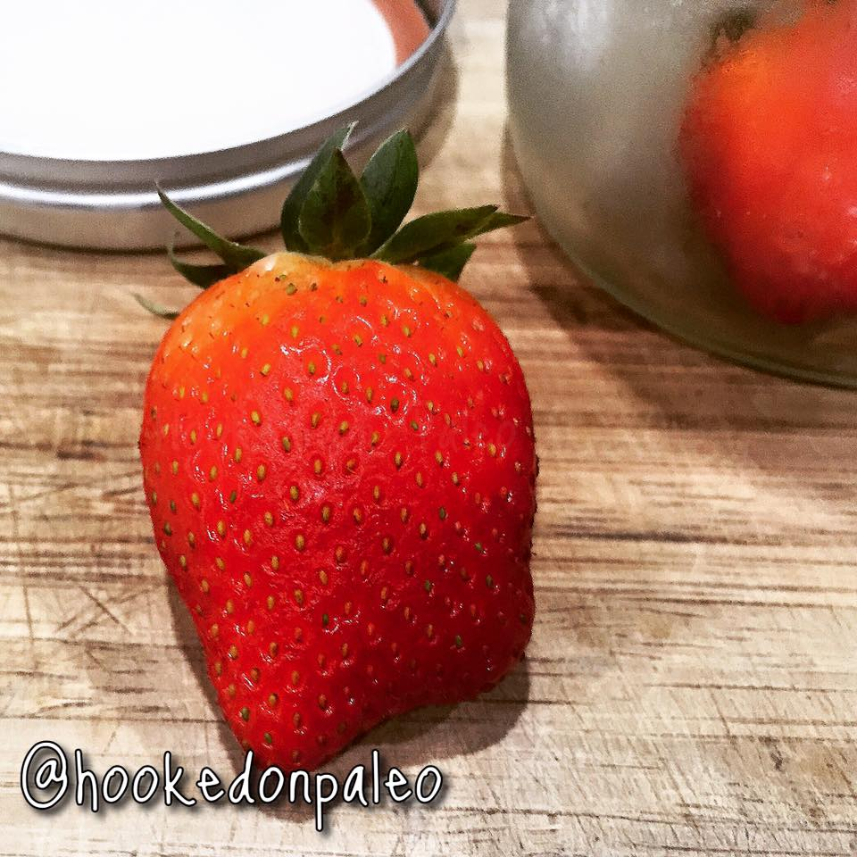 This strawberry lasted 11 days in a mason jar without rotting.