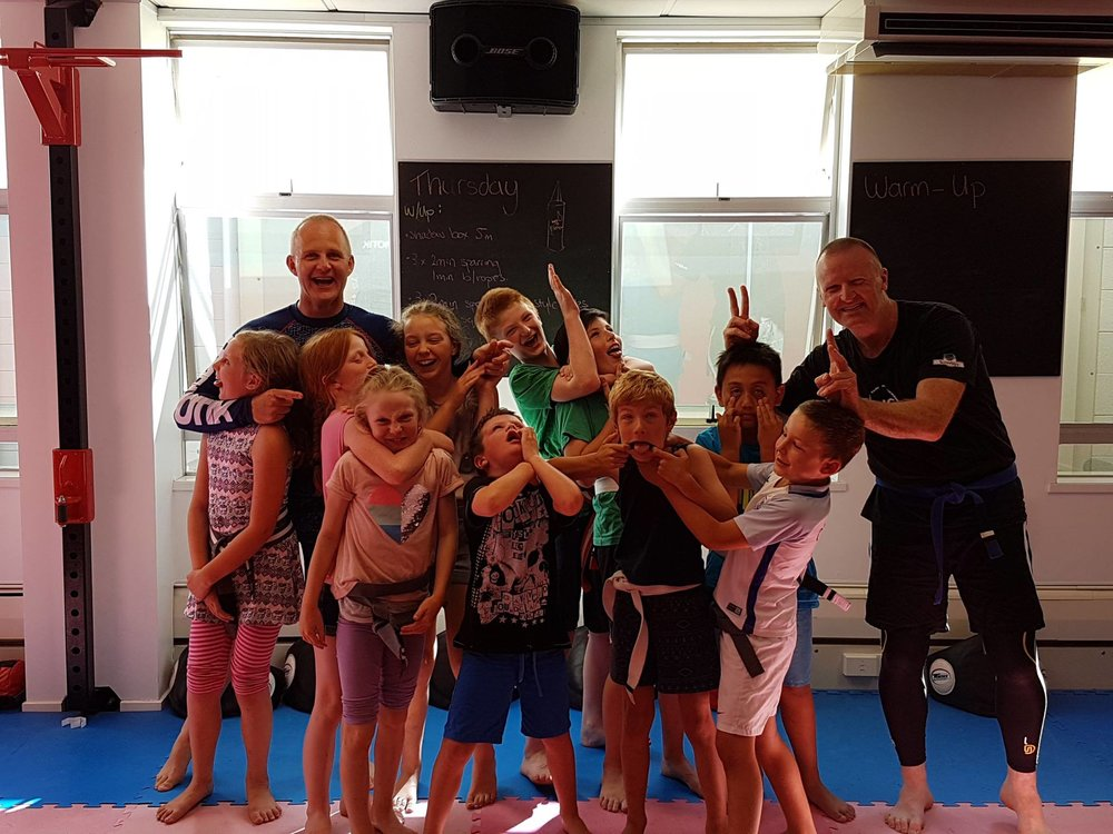 The kids team ended the year on a high after a very successful grading.