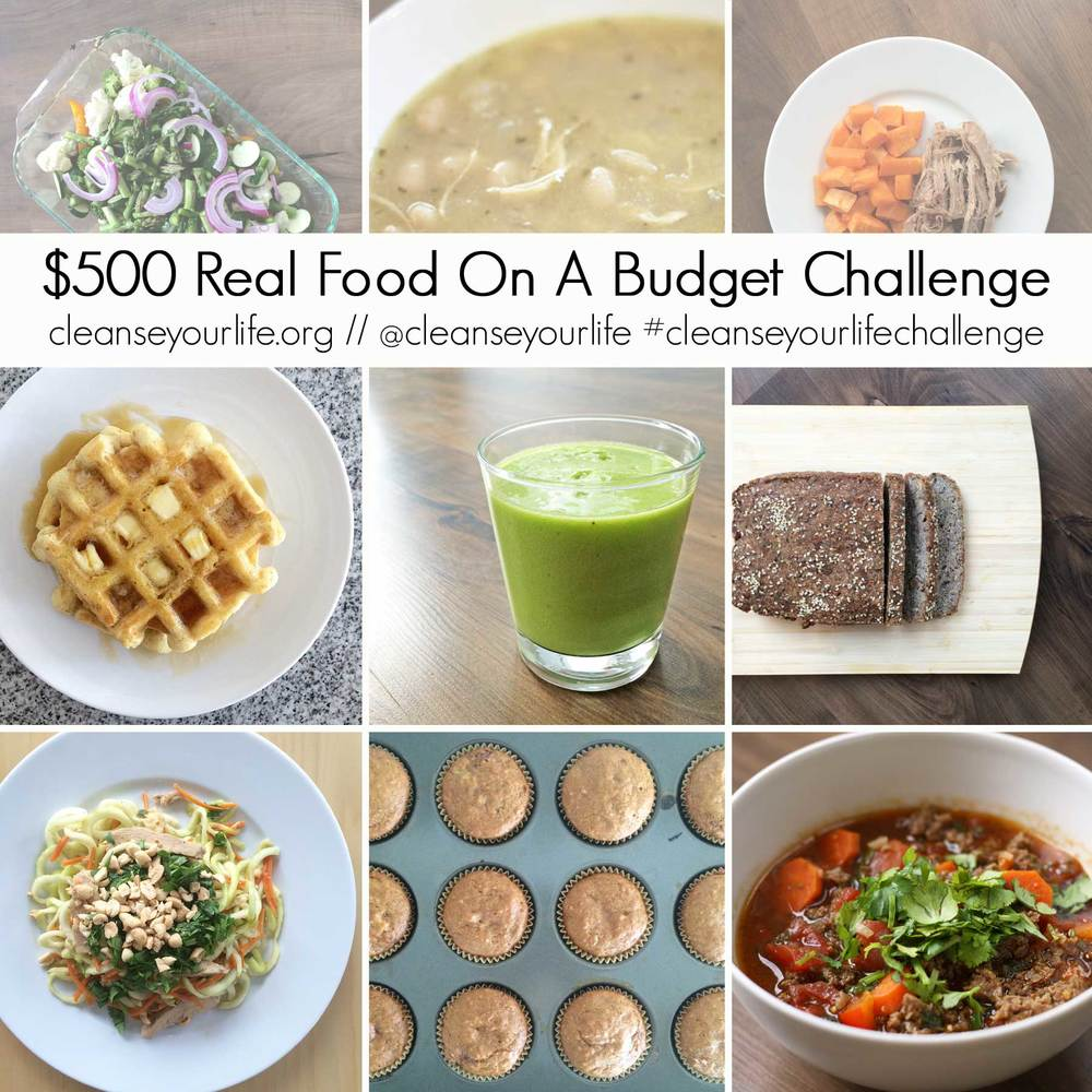Can I feed my family of 6 REAL FOOD (gluten free!) for $500/month? Follow along and see how I do! Free Meal Plan printable on my site!