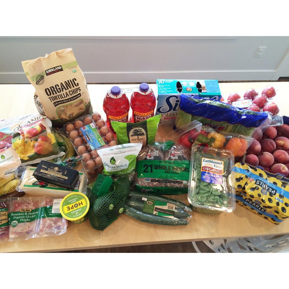 Real Food On A Budget: Week 1