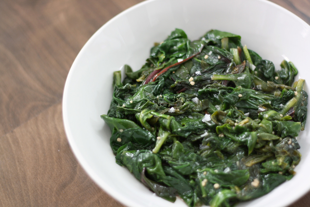 Easy Sauteed Garlicky Greens