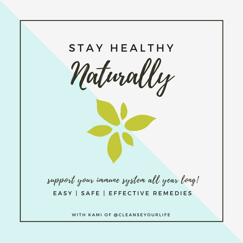 "Download my free ""Stay Healthy Naturally"" e-book with details on how I keep my four kids out of the doctor's office + my famous elderberry syrup recipe!"