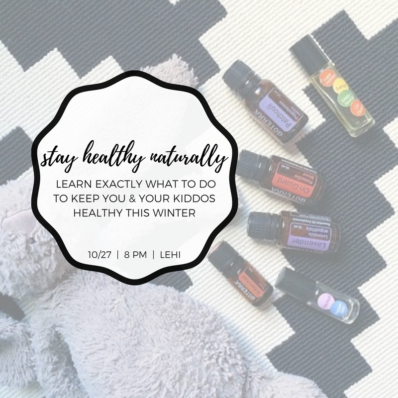 Free Class! Lehi, UT - Learn exactly what to do to keep you and your kiddos healthy this winter!