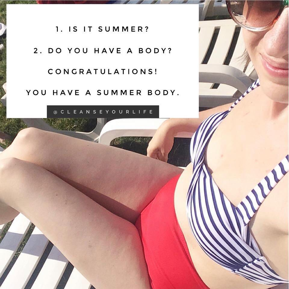 Want a Summer Body?