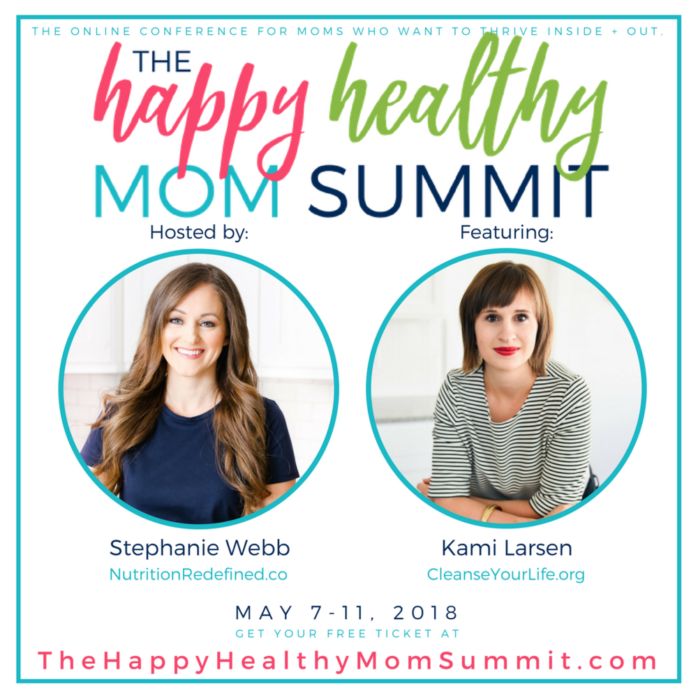 Hear me speak at the Happy Healthy Mom Summit! I'll be speaking on learning to love your body through self care. The conference is FREE!